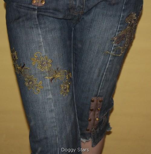 Ну и варианты для заделывания потертости на джинсах и дырок.  Вы всегда можете придумать, как продолжить жизнь своим...