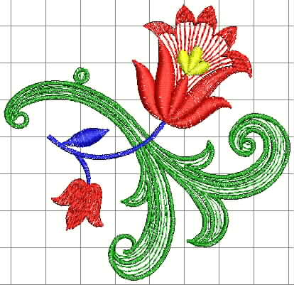 Рисунок для компьютерной вышивки