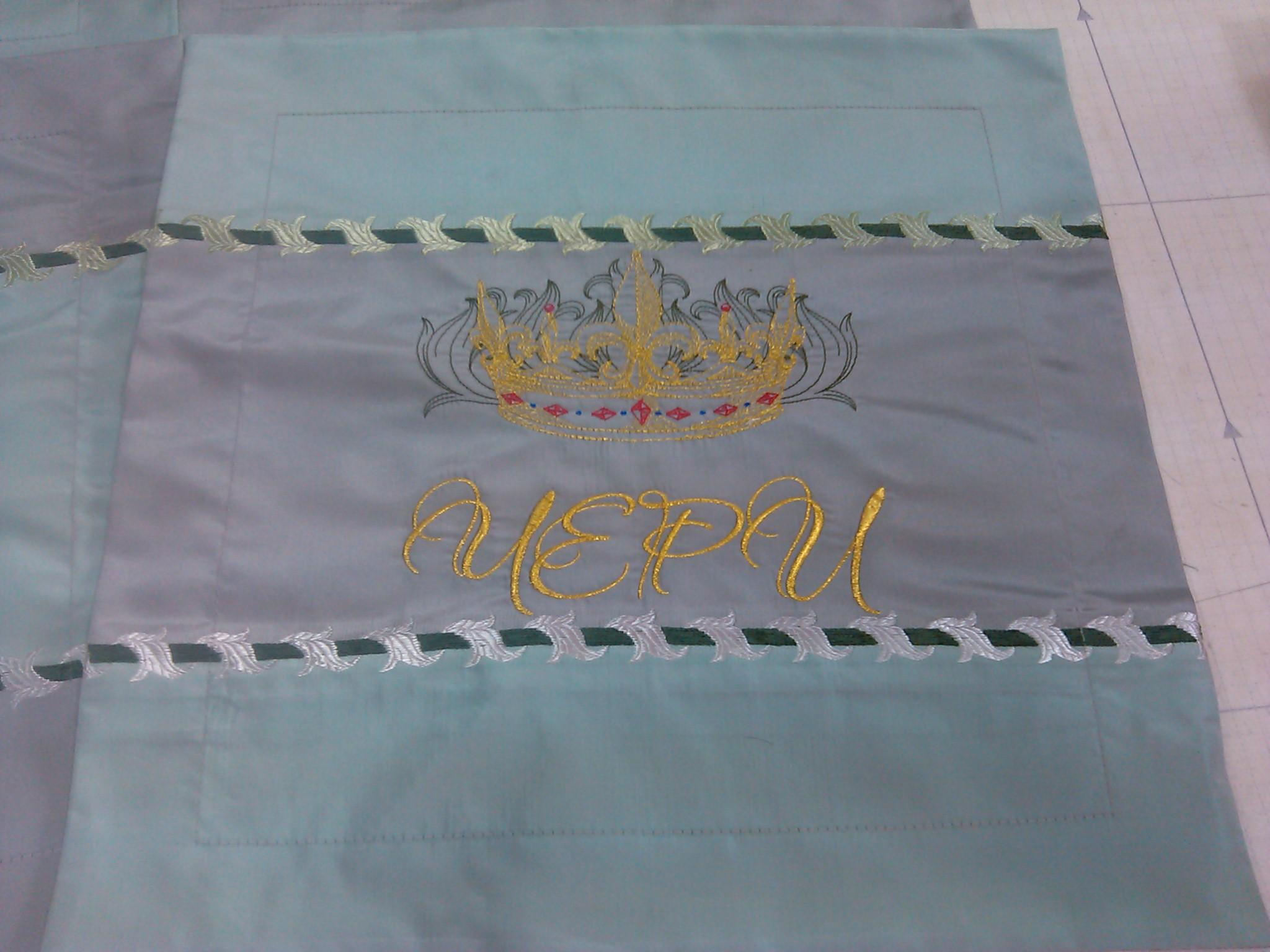 Машинная вышивка в серпухове 35