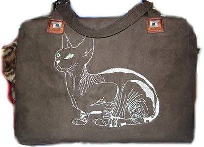 сделать сумку переноску для кошки своими руками.